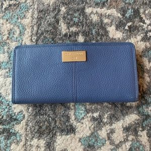 Blue Leather Cole Haan Wallet